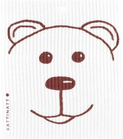 swedethings-cad dishcloth Teddy