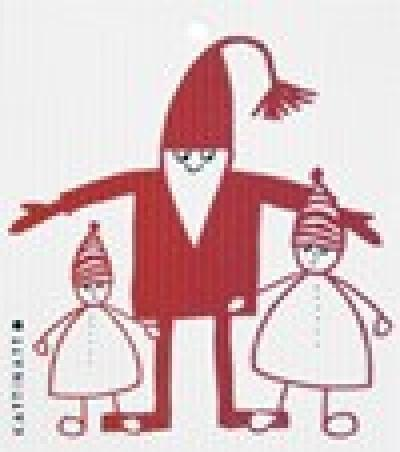 swedethings-cad dishcloth Tomte With Kids
