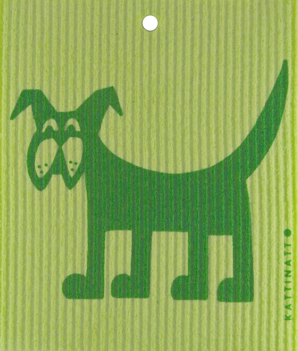 Green on Green Dog