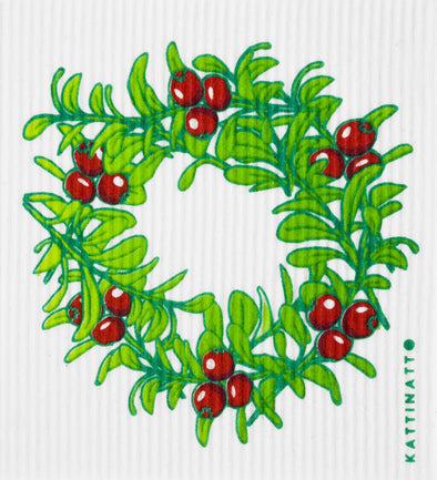 swedethings-cad Lingonberry wreath medium