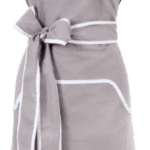 Apron: Cupcake Grey with White Banding -  swedethings-cad