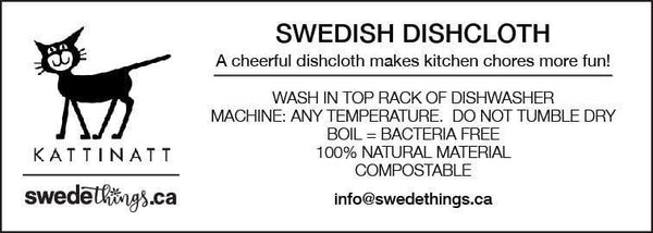 Instruction Label -  swedethings-cad