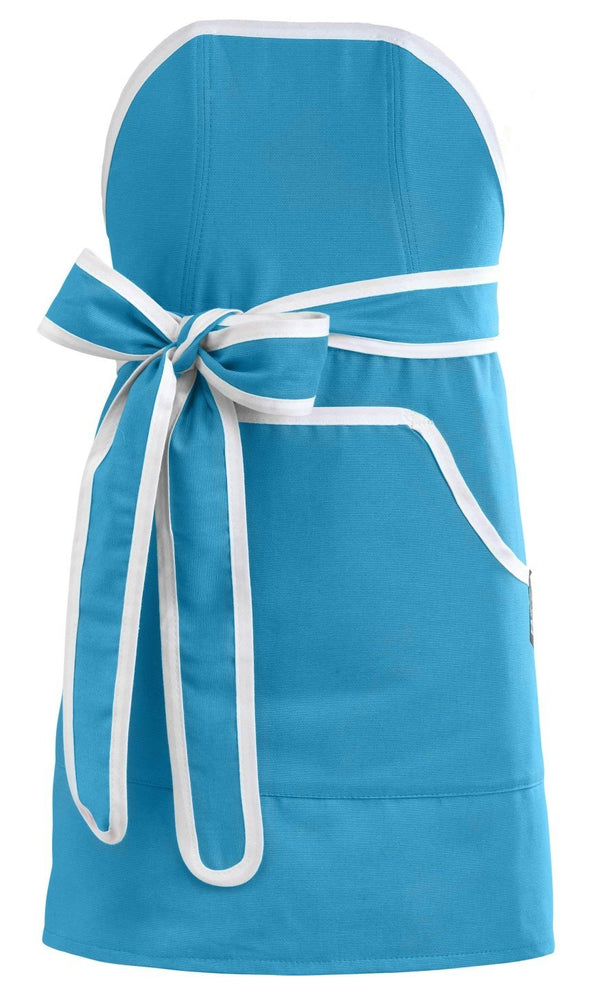 Kids Apron: Mini Cupcake Blue with White Banding -  swedethings-cad