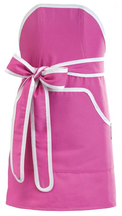 Kids Apron: Mini Cupcake Pink with White  Banding -  swedethings-cad