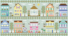 Main Street Bookstore Cross Stitch Pattern | Country Cottage Needleworks - Blessed Backyard