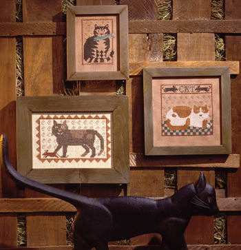 Barn Cats Cross Stitch Pattern | Prairie Schooler - Blessed Backyard