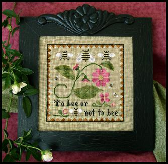 Bee Sampler Cross Stitch Pattern | Little House Needleworks - Blessed Backyard