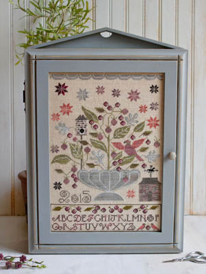 Blackberry House Cross Stitch Pattern | Plum Street Samplers - Blessed Backyard