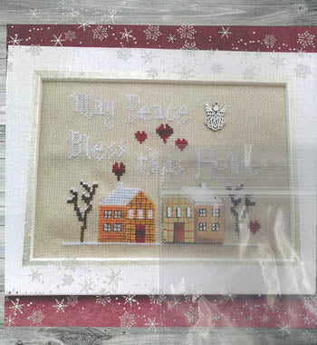 Bless this Home Cross Stitch Pattern | Romy's Creations - Blessed Backyard