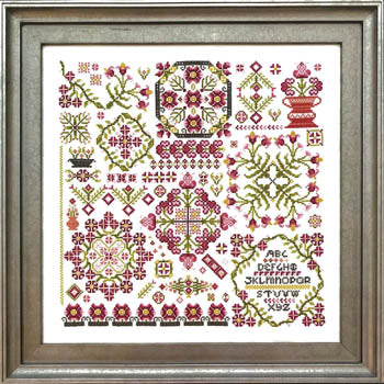 Creation II Cross Stitch Pattern | Rosewood Manor - Blessed Backyard