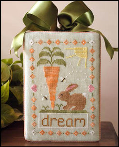 Dream Big Cross Stitch Pattern | Country Cottage Needleworks - Blessed Backyard