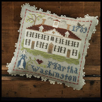 Early Americans No. 3 - Martha Washington | Little House Needleworks - Blessed Backyard