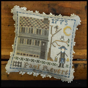 Early Americans No. 6 - Paul Revere | Little House Needleworks - Blessed Backyard