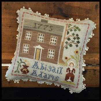 Early Americans No. 7 - Abigail Adams | Little House Needleworks - Blessed Backyard