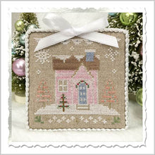 Glitter Village House #8 Cross Stitch Pattern | Country Cottage Needleworks - Blessed Backyard