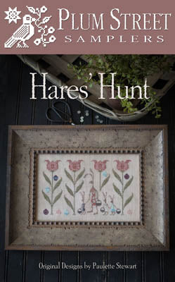 Hare's Hunt Cross Stitch Pattern | Plum Street Samplers - Blessed Backyard