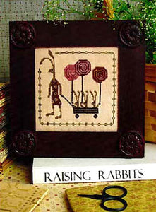 Hare's Spring Cross Stitch Pattern | Plum Street Samplers - Blessed Backyard