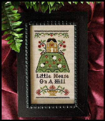 Hill House Cross Stitch Pattern | Little House Needleworks - Blessed Backyard