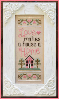 Lovely Home Cross Stitch Pattern | Little House Needleworks - Blessed Backyard