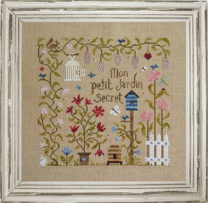 Mon Petit Jardin Secret Cross Stitch Pattern | Jardin Prive - Blessed Backyard