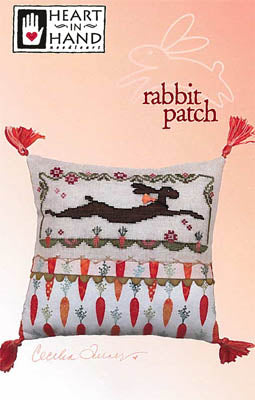 Rabbit Patch Cross Stitch Pattern | Heart in Hand - Blessed Backyard