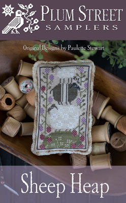 Sheep Heap Cross Stitch Pattern | Plum Street Samplers - Blessed Backyard
