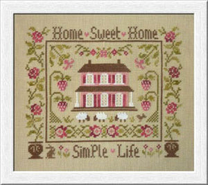 Simple Life Cross Stitch Pattern | Jardin Prive - Blessed Backyard