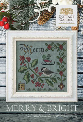 Songbird's Garden Series #2 - Merry & Bright | Cottage Garden Samplings - Blessed Backyard