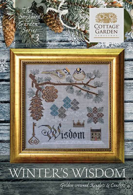 Songbird's Garden Series #3 -Winter Wisdom | Cottage Garden Samplings - Blessed Backyard