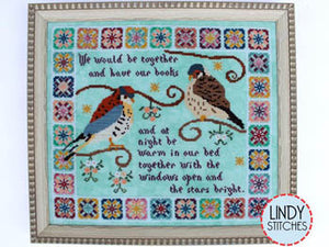 Stars Bright Cross Stitch Pattern | Lindy Stitches - Blessed Backyard