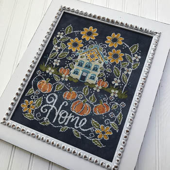 Sunflower Manor Cross Stitch Pattern | Hands on Design - Blessed Backyard