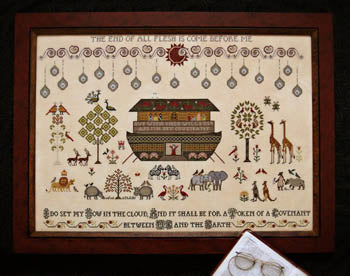 The Flood Cross Stitch Pattern | Plum Street Samplers - Blessed Backyard