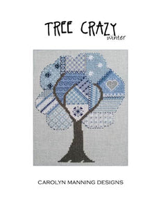 Tree Crazy-Winter Cross Stitch Pattern | Carolyn Manning Designs - Blessed Backyard