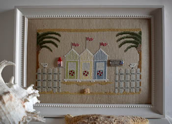 Welcome Summer Cross Stitch Pattern | Puntini Puntini - Blessed Backyard