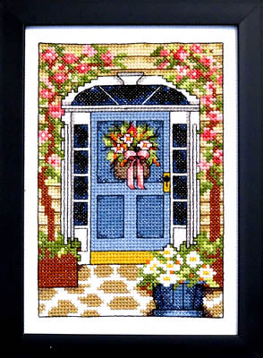 Welcome Summer Cross Stitch Pattern | Bobbie G Designs - Blessed Backyard