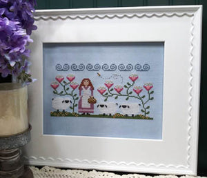 Willamina's Woolens Cross Stitch Pattern | Vintage Needlearts - Blessed Backyard