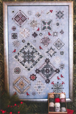 Winter Quakers Cross Stitch Pattern | Rosewood Manor - Blessed Backyard