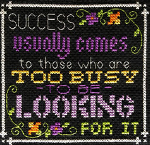 Words to Live By - Part 4: Recipe for Success cross stitch pattern - Blessed Backyard