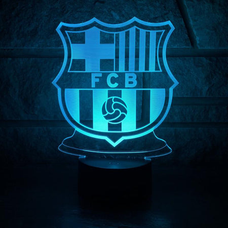 "LED Lamp ""FC Barcelona"""
