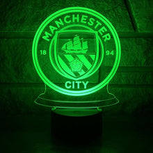 "LED Lamp ""Manchester City"""