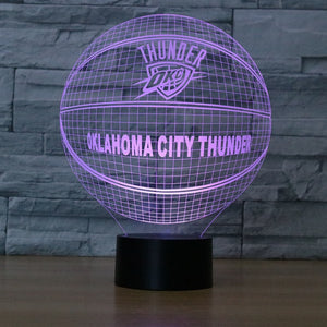 "LED Lamp ""Oklahoma City Thunder"""