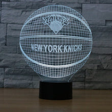 "LED Lamp ""New York Knicks"""