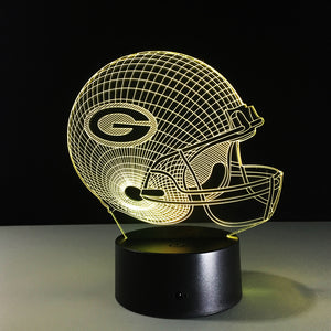 "LED Lamp ""Green Bay Packers"""