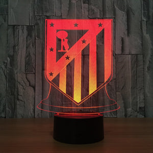 "LED Lamp ""Atletico Madrid"""