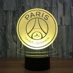 "LED Lamp ""Paris Saint Germain"""