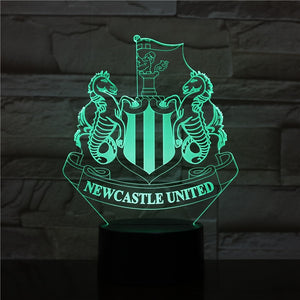 "LED Lamp ""Newcastle United"""