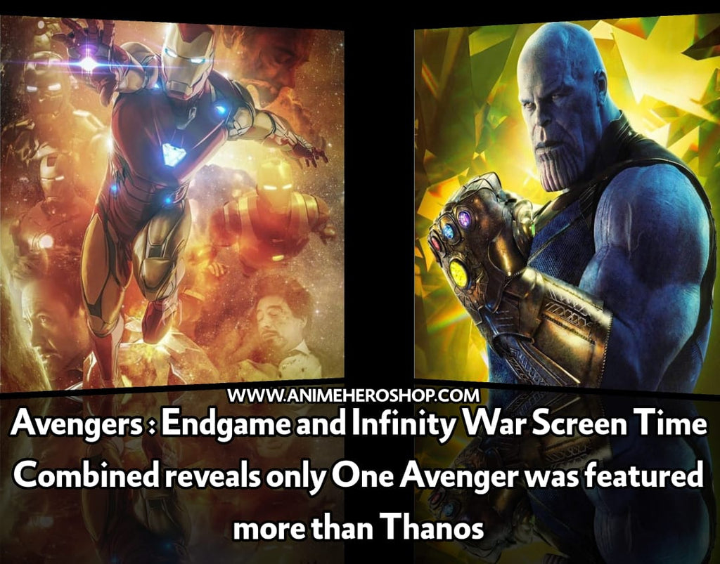 Avengers: Endgame and Infinity War Screen Time Combined Reveals Only One Avenger Was Featured More Than Thanos