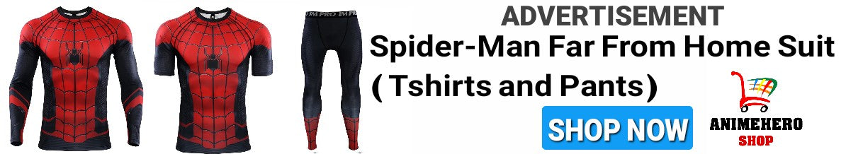 Spider-Man: Far From Home T-Shirts and Pants