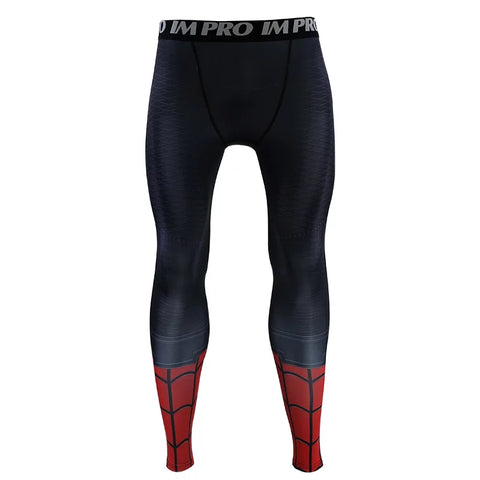 2019 Spider Man Far From Home Compression T-shirts & Pants for Men - Anime Hero Shop