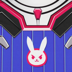 2019 Hot Sale Game Hero D.Va Suits T-shirt Cosplay 3D Printed T-Shirts - Anime Hero Shop